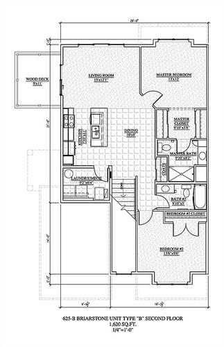 Two Bedroom Second Floor