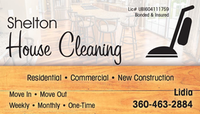 Shelton House Cleaning