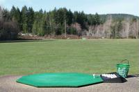 Our driving range is wide open for all your long shots.