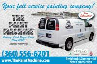 Branding project for The Paint Machine painting company