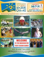 Program design for the WA State Senior Games