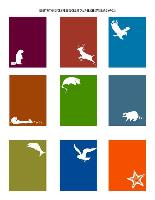Icon designs for WA State Parks