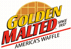 Golden Malted Waffle and Pancakes