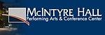 McIntyre Hall, Performing Arts