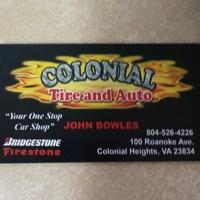 Colonial Tire & Auto