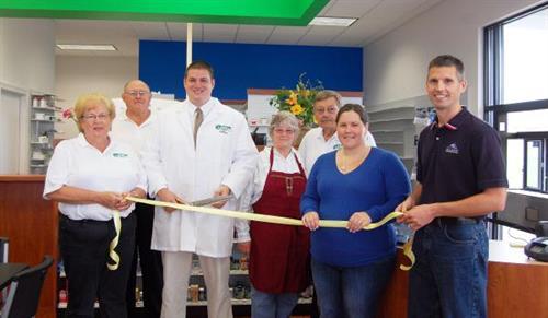 Brandon HealthMart Pharmacy Ribbon Cutting