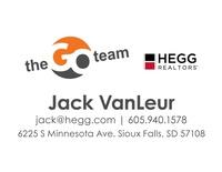 Jack VanLeur, The GO Team, HEGG Realtors