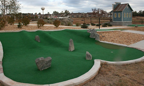 18 Hole Mini Golf Course with 19th Bonus hole