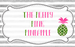 Preppy Pink Pineapple, The
