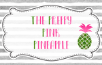 The Preppy Pink Pineapple