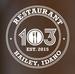 Resturant 103