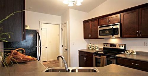 Rockwood Condominiums - Kitchen area (select units)