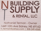 NT Building Supply & Rental, LLC