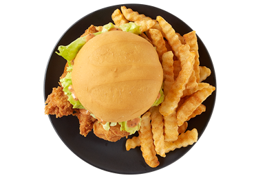 Gallery Image Zaxbys-ChickenFingerSandwich_Meal_Over.png