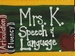 Mrs. K Speech, LLC