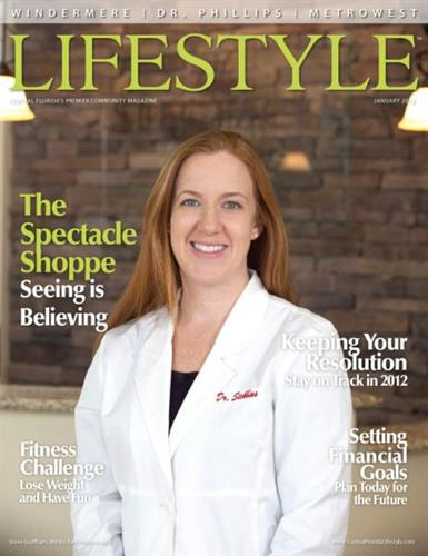 January 2012 Cover - The Spectacle Shoppe