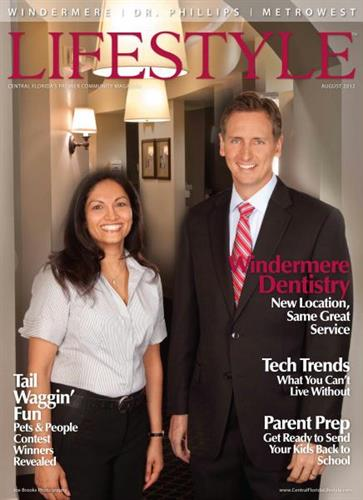 August 2012 Cover - Windermere Village Dentistry