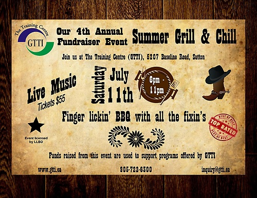 Summer Fundraiser Event