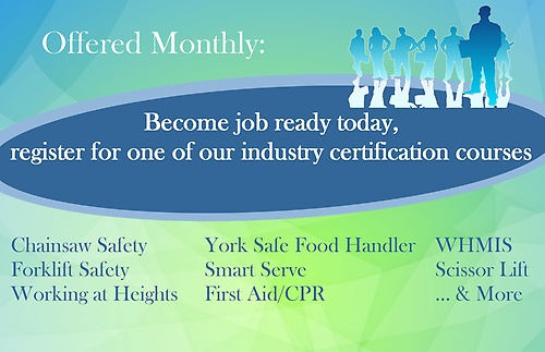 Monthly Industry Certifications