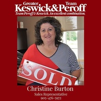 Christine Burton - Sales Representative - Team Peroff - Keller Williams Realty Centres