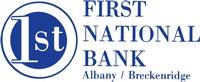 First National Bank, Albany/Breckenridge