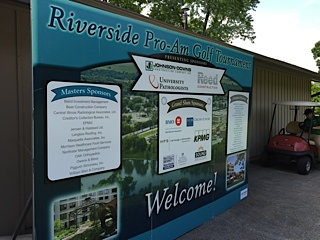 Riverside Pro-Am golf outing