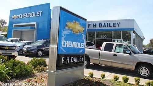 F H Dailey Chevrolet Automobile Dealers New Used