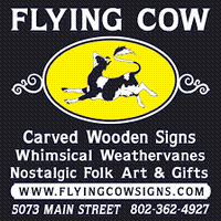 Flying Cow Signs