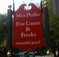 Miss Phyllis Fine Linens and Frocks