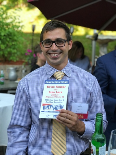 One of the winners of our Regional 30 Under 40 event