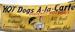 Hot Dogs A La Carte