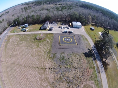 Kellian Helipad. Image courtesy of Killian Police Department.