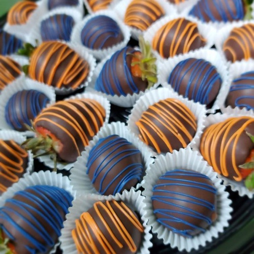 Wicked Balls & Chocolate Covered Strawberries