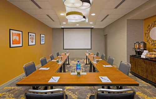 The Baker Room , perfect for small meetings and breakout rooms!