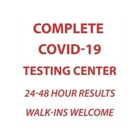 Complete COVID-19 Testing Center