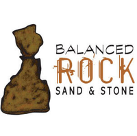Balanced Rock, Sand and Stone