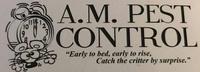 A.M. Pest Control