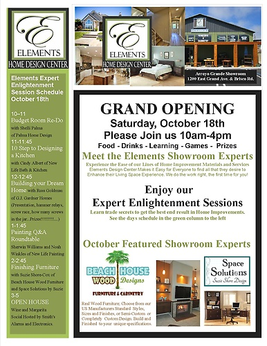 Elements Grand Opening