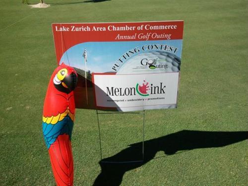 Golf Outing Sponsor Chamber Golf 2012