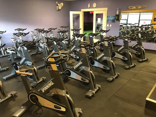 new spin bikes!