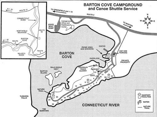 Barton Cove Campground Campgrounds Northampton Chamber