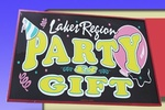 Lakes Region Party & Gifts/Blue Ribbon Basket