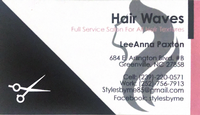 Stylesbyme at Hair Waves