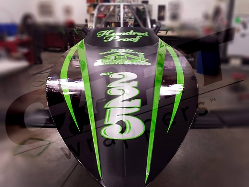 Custom Jet Boat Wrap
