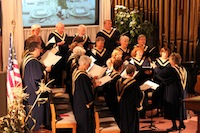 The choir shares their music
