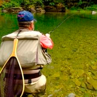Reel in a big one on one of our guided fly-fishing trips - either floating and wading - on the St. Joe and Coeur d'Alene rivers