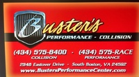 Buster's Performance & Collision