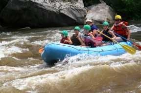 Cheat Narrows high water
