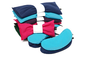 We have Herbie Pacs, a natural Herbal Aromatherapy Heating Pad.