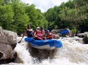 Chesseburger Falls Upper Yough river